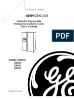 GE Fridge Electronic