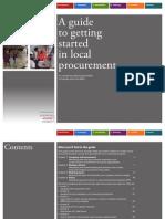 Guide Local Procurement