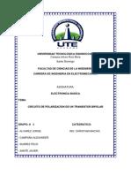 informe electronica (transistores)