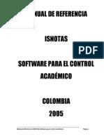 Manual ISNotas