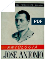 Jose Antonio Primo de Rivera Antologia Gonzalo Torrente Ballester