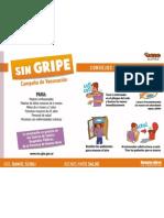Afiche Campaña Contra la Gripe 2011