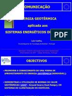 ESTSetubal - Seminario Geotermica