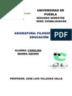 EDUCACION EN EL AÑO 2000