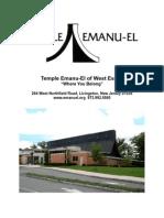 Temple Brochure