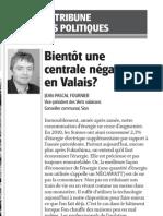Bientôt une centrale négawatts en Valais