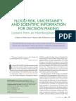 Flood Risk Uncertainty BAMS 2005