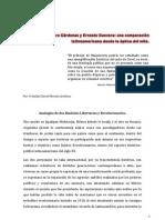 Lázaro Cárdenas y Ernesto Guevara analogía de dos leyendas