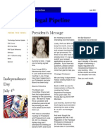 July 2011 Edition of the Paralegal Pipeline