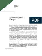 Aprender Siguiendo a Piaget
