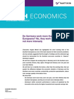 2011-06-28 Natixis Do Germans Work More Than Southern Europeans - No, They Work Much Less, And Not More Intensely