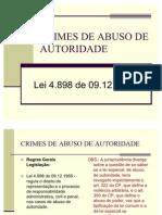 Okcrimes de Abuso de Autoridade