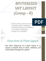 Computerized Plant Layout