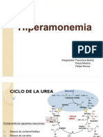 Bioquimica hiperamonemia