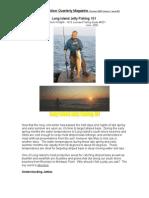 Long Island Jetty Fishing 101