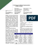 OptimizationTechniquesDSPonFPGA