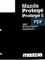 Mazda Protege 2003 Wiring Diagram Supplement