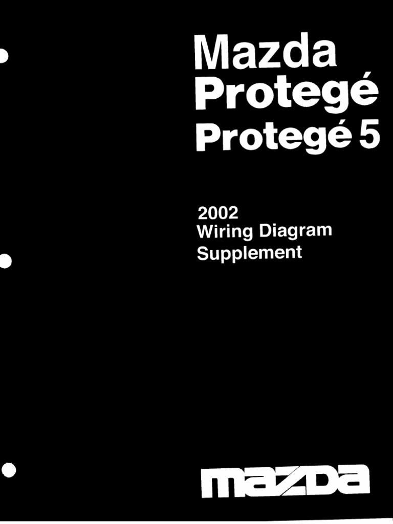 02 Mazda 626 Wiring Diagram Free Download 1991 Protege 2003 Supplement 40 At Bmw X5