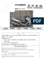 Kymco Xciting 500 Parts Catalog