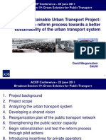 David Margonsztern - Kathmandu Sustainable Urban Transport Project