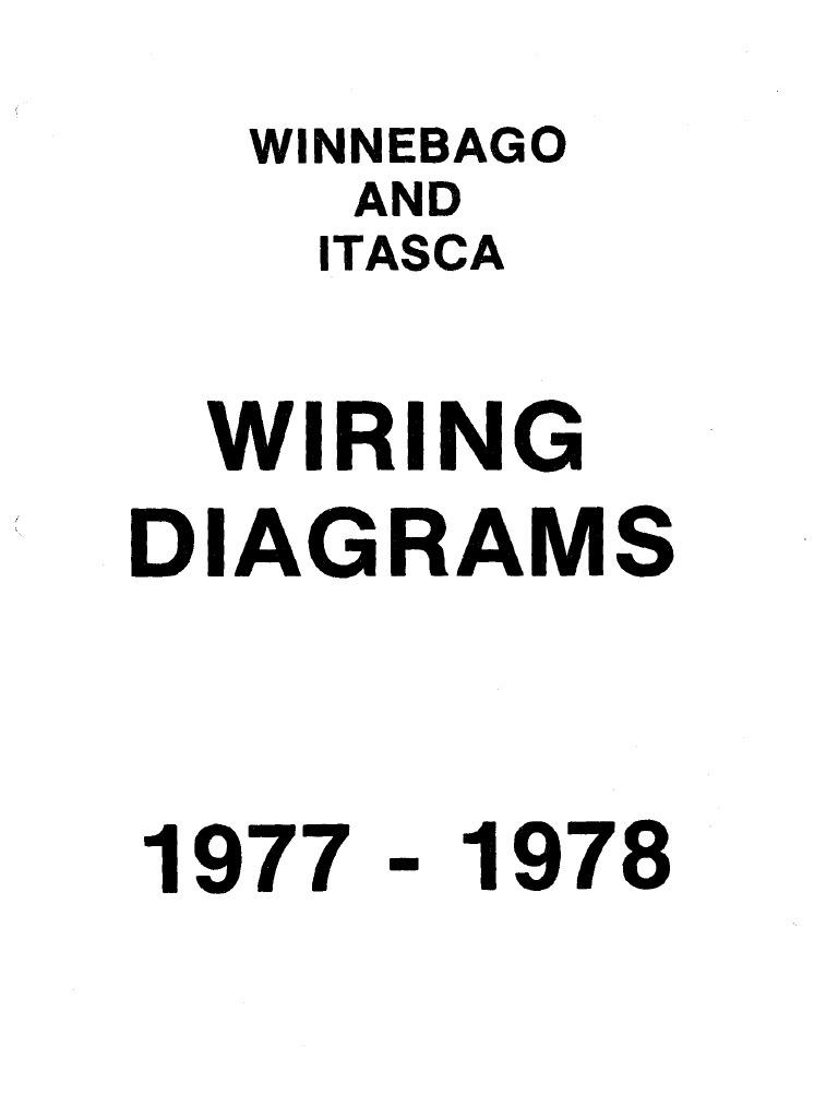 Attractive Winnebago Wiring Diagrams 1979 1980 Elaboration ...