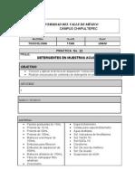 Prcticas de Toxicologia Para Los Alumnos a-2011