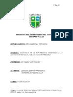 Plan de Clase Lencina - Moreira