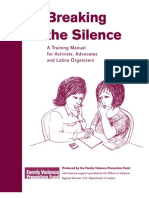 3Breaking the Silence Training Manual