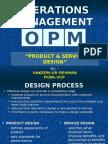 4. Product & Service Design