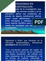 investigacion paradigmas