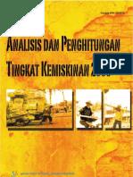 Analisis Kemiskinan 2008