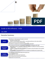 Guide to Mircofinance India Sample