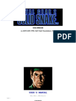 Solid Snake Manual