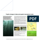 Trophic changes in lakes and aquatic macrophyte trends