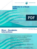 Ecological gradients in a flood-pulsed river delta