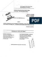 Aurora Loan Services v Weisblum Apellants Brief 18 Aug 2010
