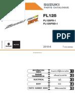 Suzuki Shogun 125 FI EPI Parts