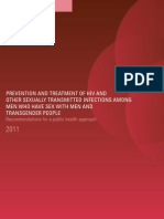 MSM-TG Prevention & Treatment Guidelines