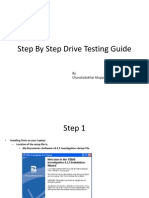 Step by Step Drive Testing Guide
