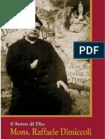 Il Servo Di Dio Mons. Raffaele Dimiccoli Padre e Maestro Dei Santi.