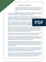 INFLACIÓN PERU 85-11