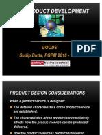 New Product Development -Goods