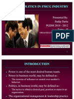 Power & Politics in FMCG Industry