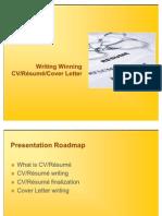 Writing Winning Resume