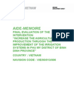 Aide Me Moire - Final Evaluation VIE 00013006