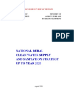National Rural Clean Water Supply and Sanitation Strategy Up to 2020