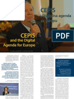 CEPIS and the Digital Agenda