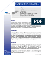 WSSP - Project Fact Sheet