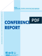 Ddr Conference Report
