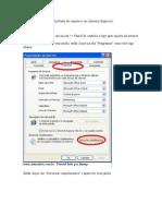 Como Retirar o Erro Do SysFader Do Iexplorer